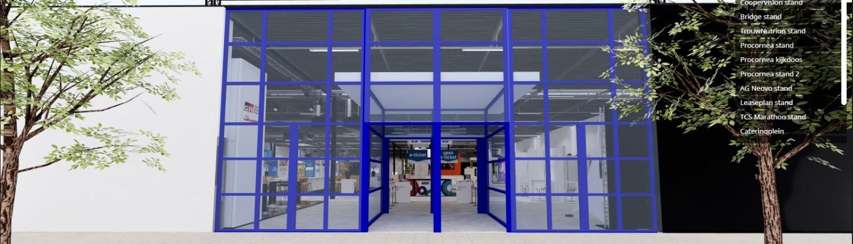 showroom in virtual reality