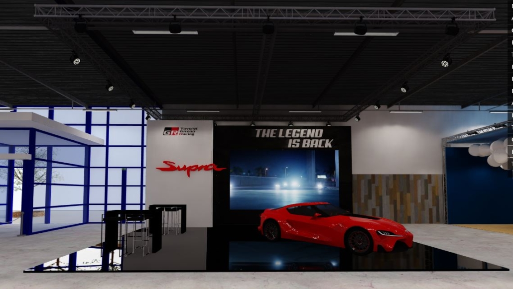 online virtuele beurs stand Toyota Masters Expo