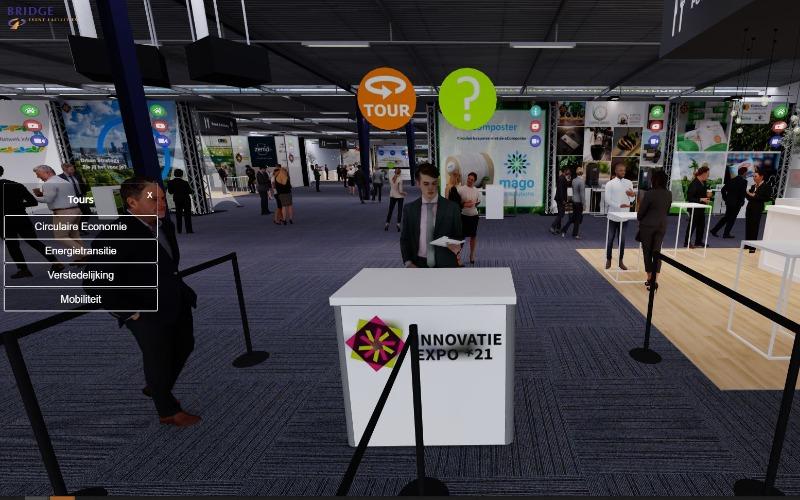 Virtuele rondleiding innovatieexpo 2021
